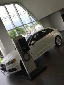Modelo A3 E-tron de Audi